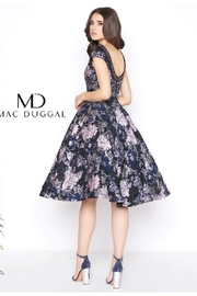 Mac Duggal Brocade Cocktail Dress - Front full body