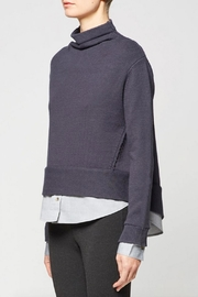 Brochu Walker Layered Funnel Sweater - Front full body