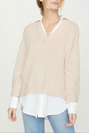 Brochu Walker Layered V-Neck Sweater - Product Mini Image