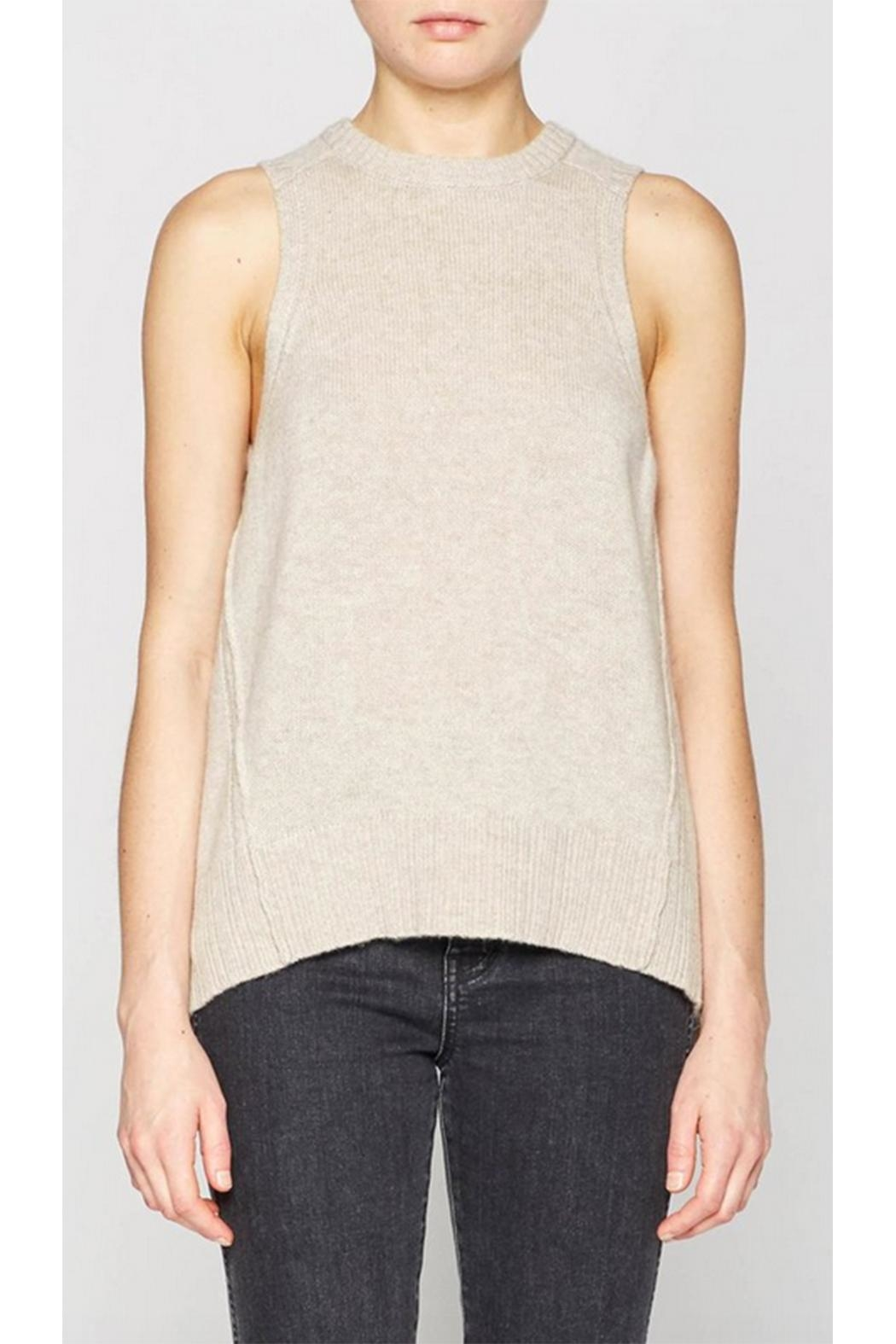 Brochu Walker Pleated Looker Tank - Main Image