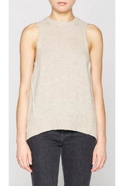 Brochu Walker Pleated Looker Tank - Front cropped