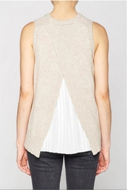 Brochu Walker Pleated Looker Tank - Back cropped