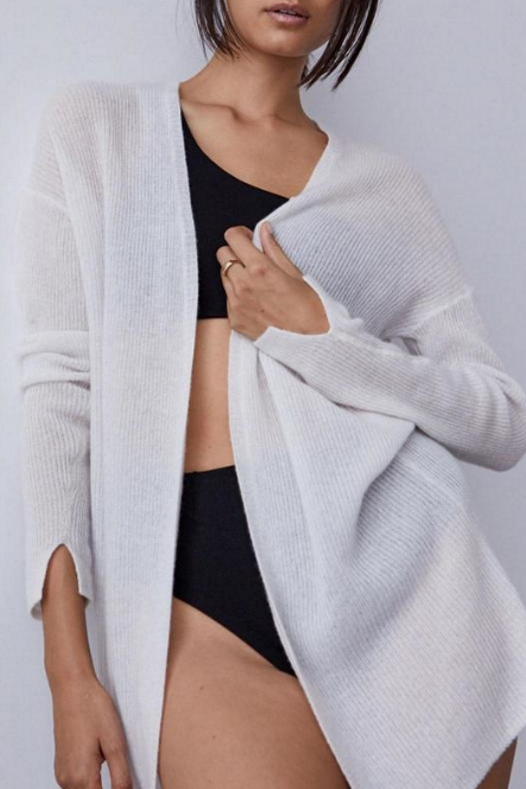 Brochu Walker The Nima Cardigan - Side Cropped Image