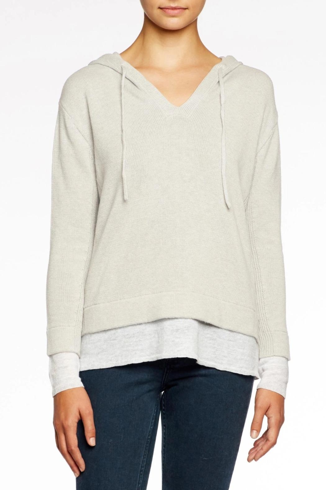 Brochu Walker The Ressie Hoodie - Front Cropped Image
