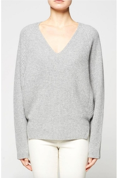 Shoptiques Product: Wool V Neck Pullover