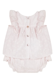 Tartine et Chocolat Broderie Anglaise Twinset - Front full body