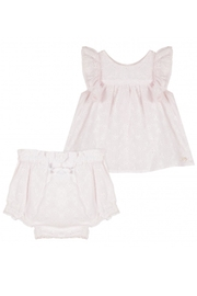 Tartine et Chocolat Broderie Anglaise Twinset - Front cropped