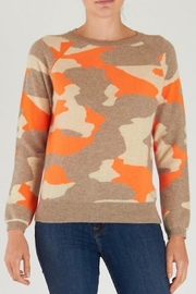 Brodie Cashmere Camo Sweater - Product Mini Image