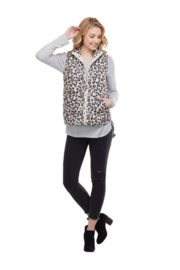 MudPie Brodie Quilted Vest - Product Mini Image