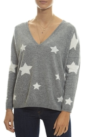 Brodie Stars V-Neck Sweater - Product Mini Image