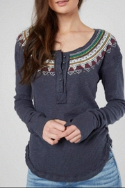 Free People Broidery Top - Product Mini Image