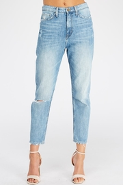 Flying Monkey Broken Hem Jeans - Product Mini Image