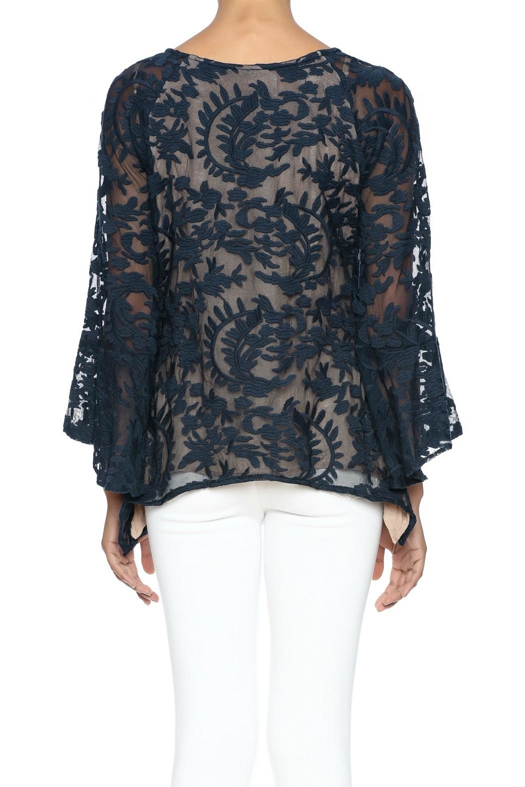 Bronte Lace High Low Tunic - Front Full Image