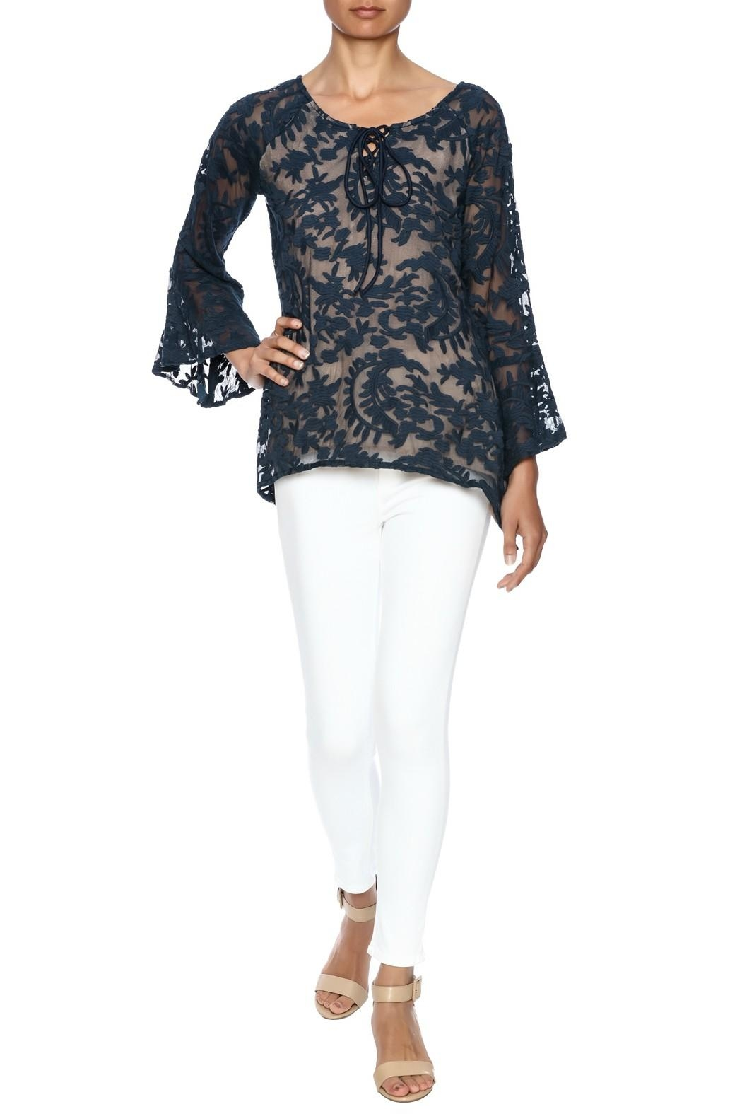 Bronte Lace High Low Tunic - Main Image