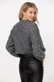 Haute Rogue Bronte Studded Sweater - Front full body