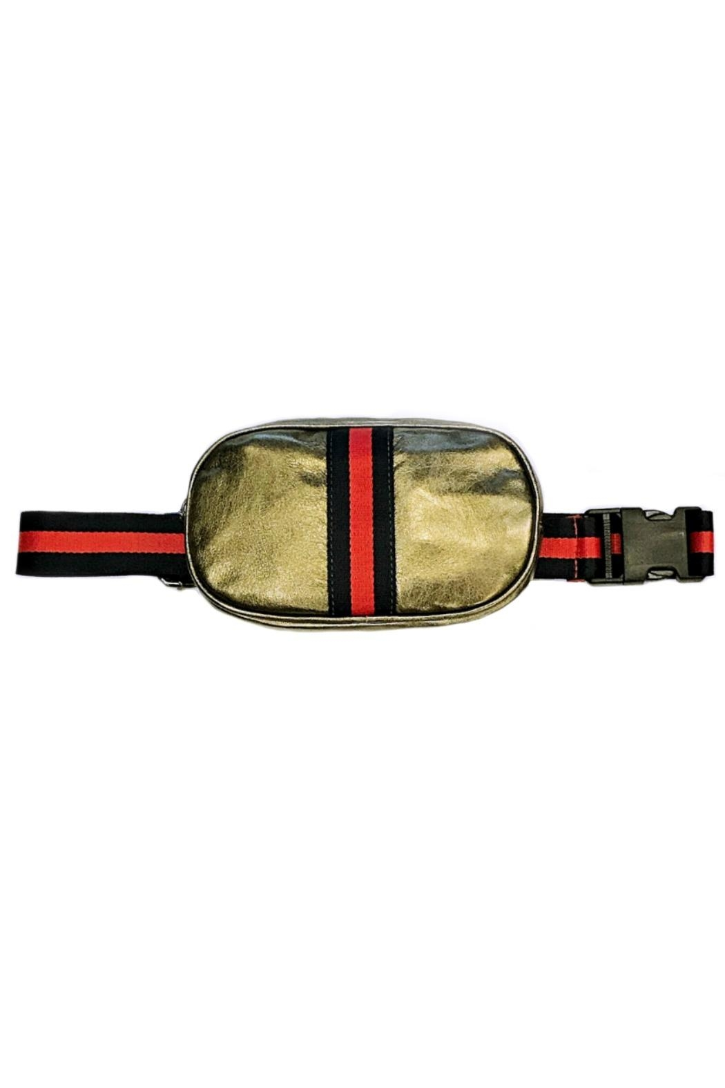 Leather Country Bronze Belt Bag - Main Image