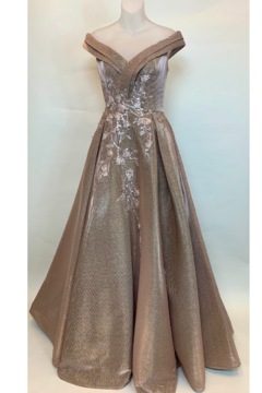 Mac Duggal BRONZE GOWN - Product List Image