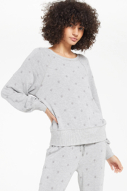 z supply Brook Dot L/S Top - Product Mini Image