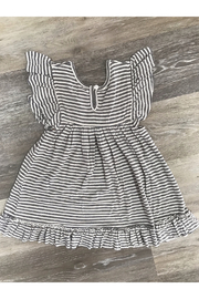 Mimi and Maggie Brook Knit Stripe Dress - Front full body