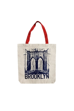 Shoptiques Product: Brooklyn Canvas Tote