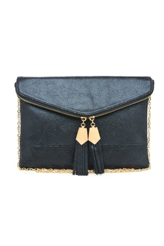 Urban Expressions Gold Detailed Tassel Clutch - Product List Image