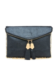 Urban Expressions Gold Detailed Tassel Clutch - Product Mini Image