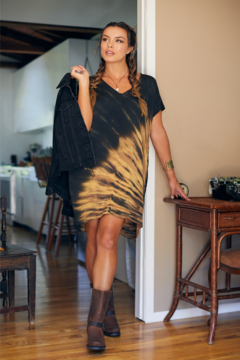 RIVER AND SKY Brooklyn Tie Dye Shift Dress - Product List Image