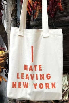 Brooklyn Airlines I Hate Leaving Ny Tote - Alternate List Image