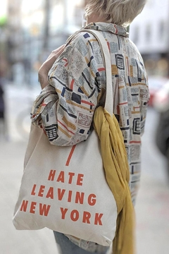 Shoptiques Product: I Hate Leaving Ny Tote
