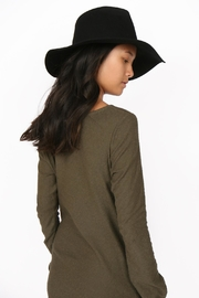 Brooklyn Hat Company Mercer Pinch-Front Floppy - Back cropped