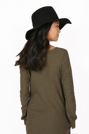 Brooklyn Hat Company Mercer Pinch-Front Floppy - Side cropped