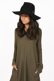 Brooklyn Hat Company Mercer Pinch-Front Floppy - Front full body