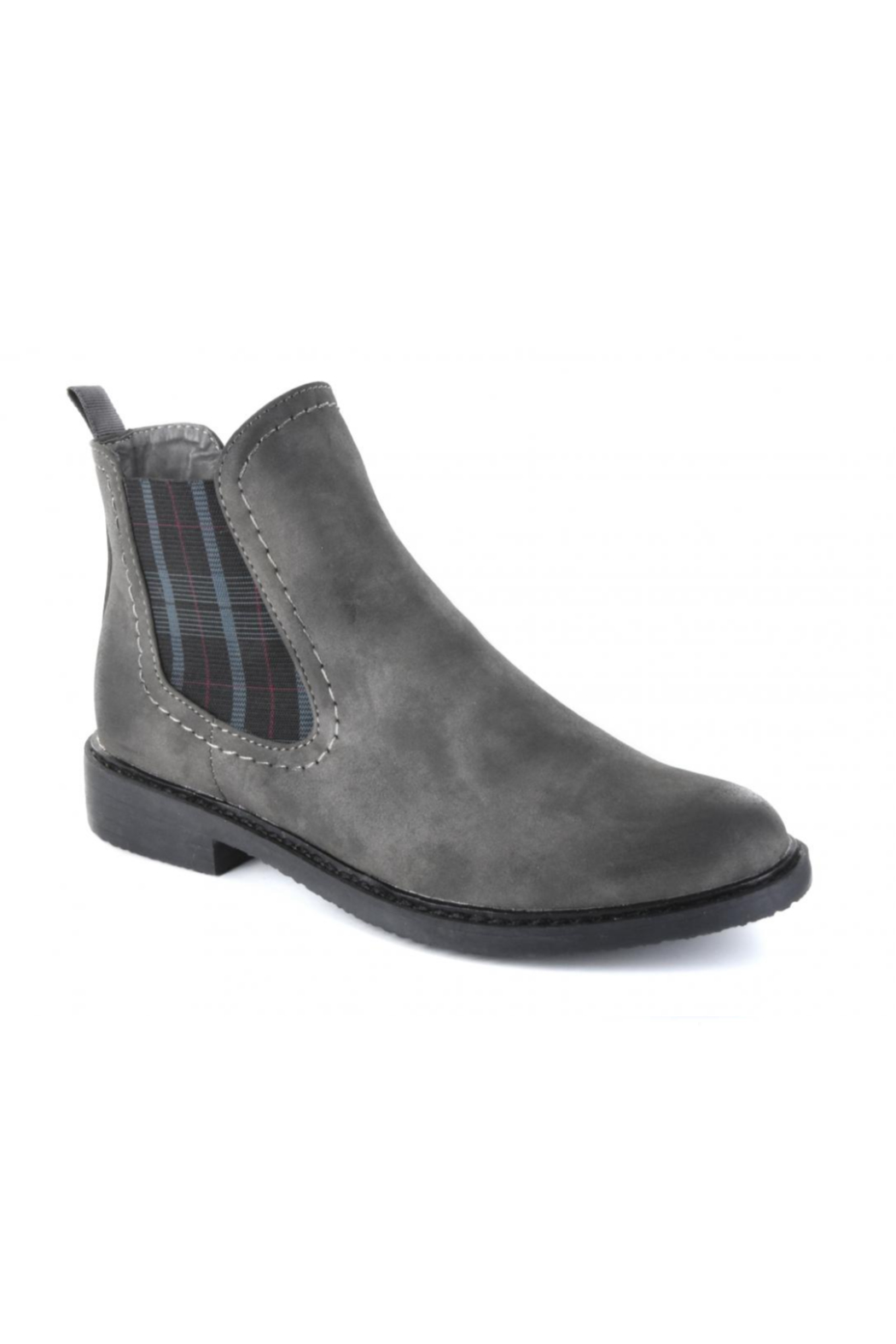 Corkys Broom Grey Bootie - Front Cropped Image