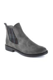 Corkys Broom Grey Bootie - Front cropped