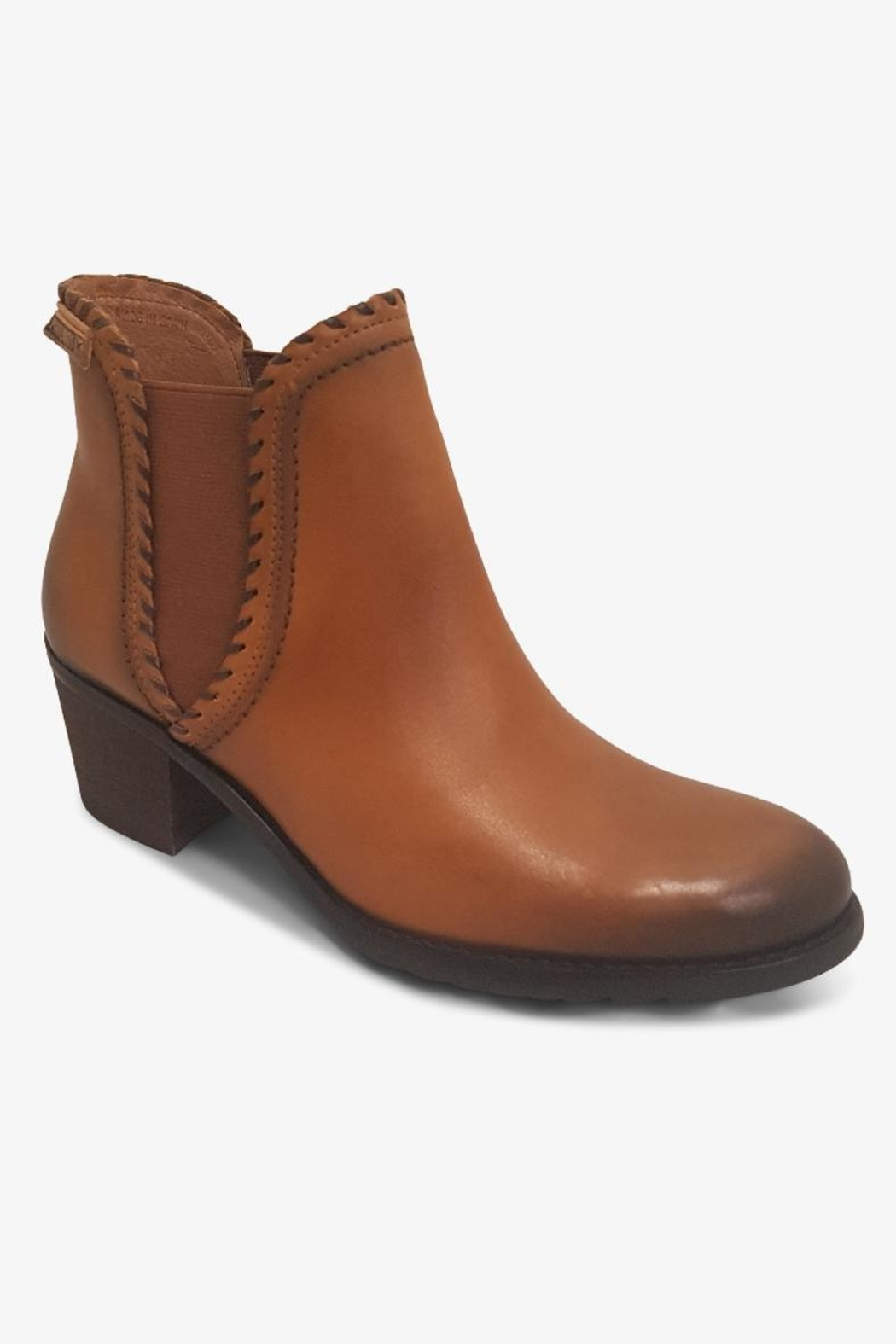 Pikolinos Brown Ankle Boot - Front Cropped Image