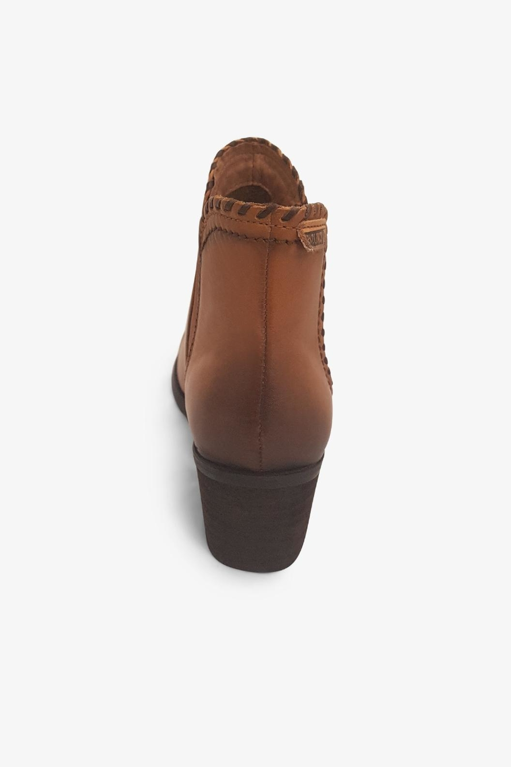 Pikolinos Brown Ankle Boot - Side Cropped Image