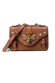 Madison Avenue Accessories Brown Bee Bag - Product Mini Image