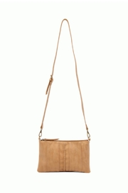 Joy Susan Brown Braided-Front Crossbody - Front full body