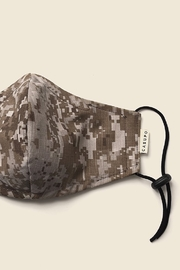 Casupo Brown Camo-Khaki Reversible Face Mask - Product Mini Image