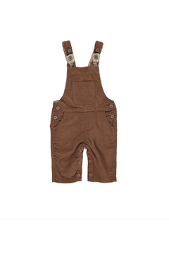 Shoptiques Product: Brown Cord Overalls