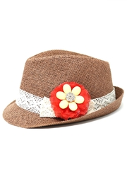 Nadya's Closet Brown Fedora Hat - Product Mini Image