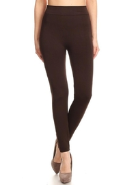 May 23 Brown Fleece Leggings - Product Mini Image