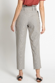 Sans Souci Brown Houndstooth Pants - Side cropped