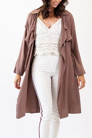 Pink Martini Brown Jacket - Product Mini Image