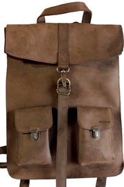kjore project Brown Leather Backpack - Product Mini Image