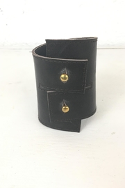 Ndiginus Brown Leather Cuff - Product Mini Image