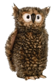 hansa plush Brown Owl - Product Mini Image