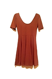 Yelete Brown Stretch Dress - Product Mini Image