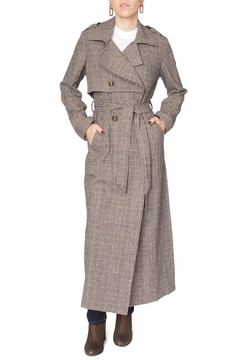 Jovonna  Brown Trench Coat - Product List Image