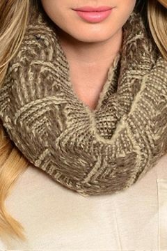 Shoptiques Product: Brown Unity Scarf